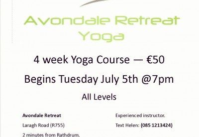 Summer Yoga at Avondale Retreat