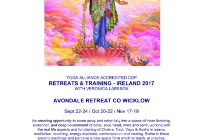 YOGA Alliance CPD With Veronica Larsson