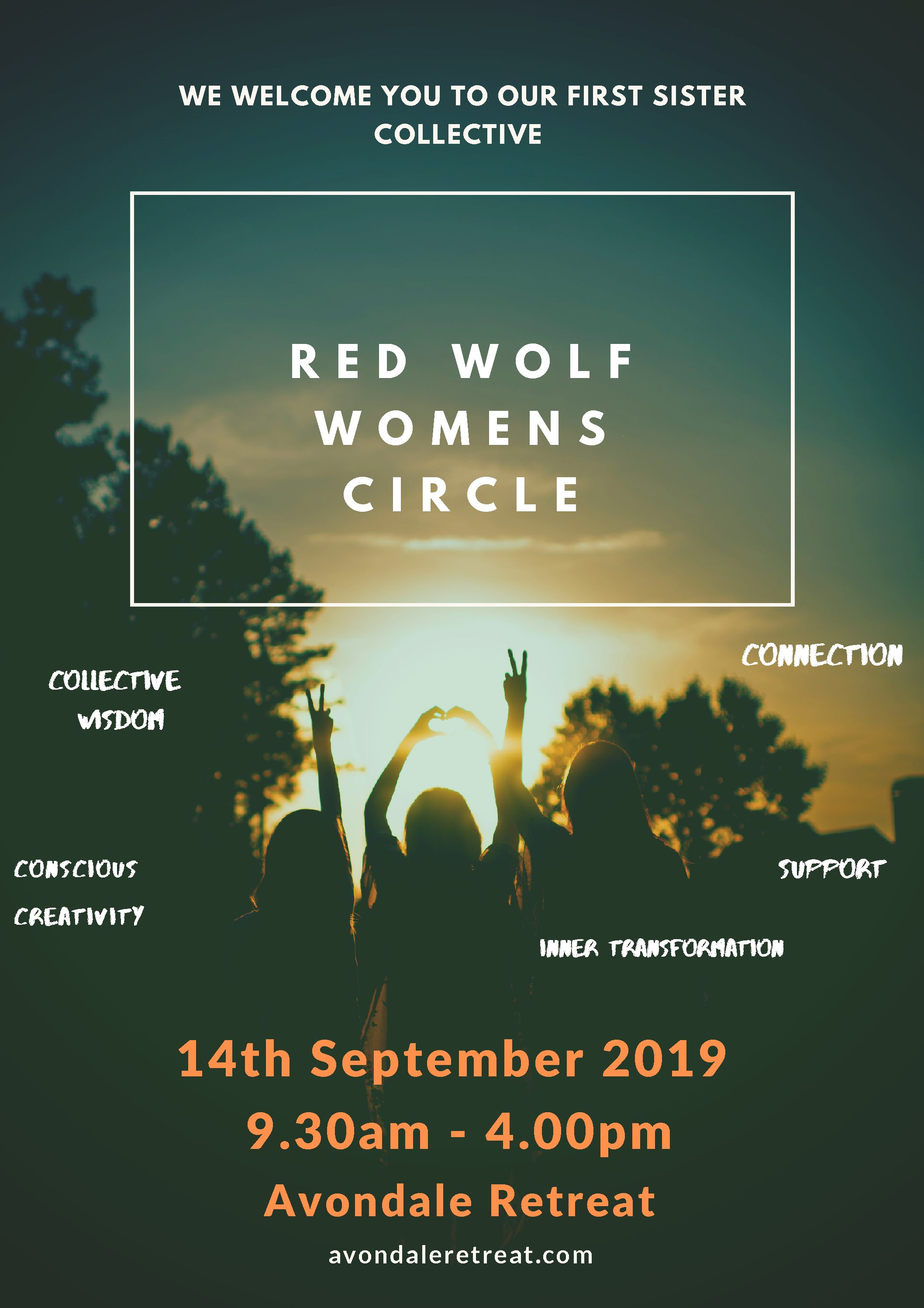 Red Wolf Womens Circle - first gathering Saturday 14th September